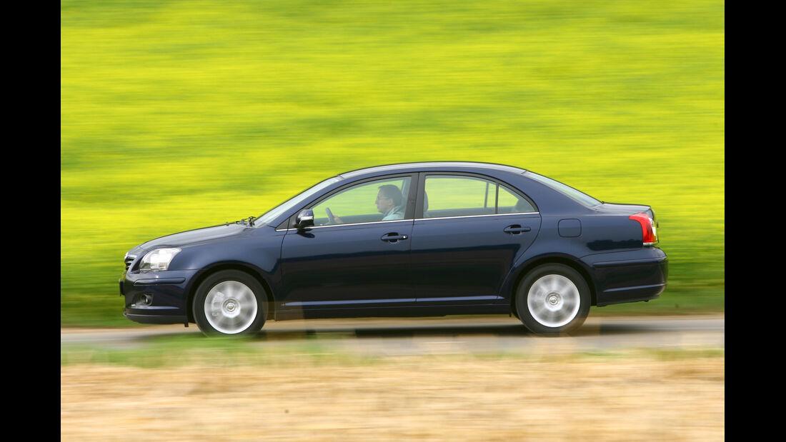 Toyota Avensis 1.8 VVT, Seitenansicht