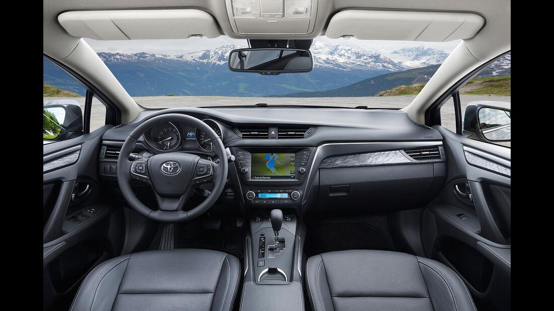 Toyota Avensis 2.0D-4D Touring Sports, Innenraum, Cockpit