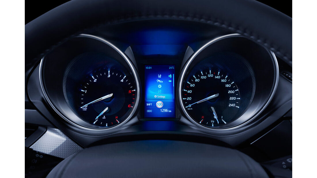 Toyota Avensis 2.0D-4D Touring Sports, Instrumente