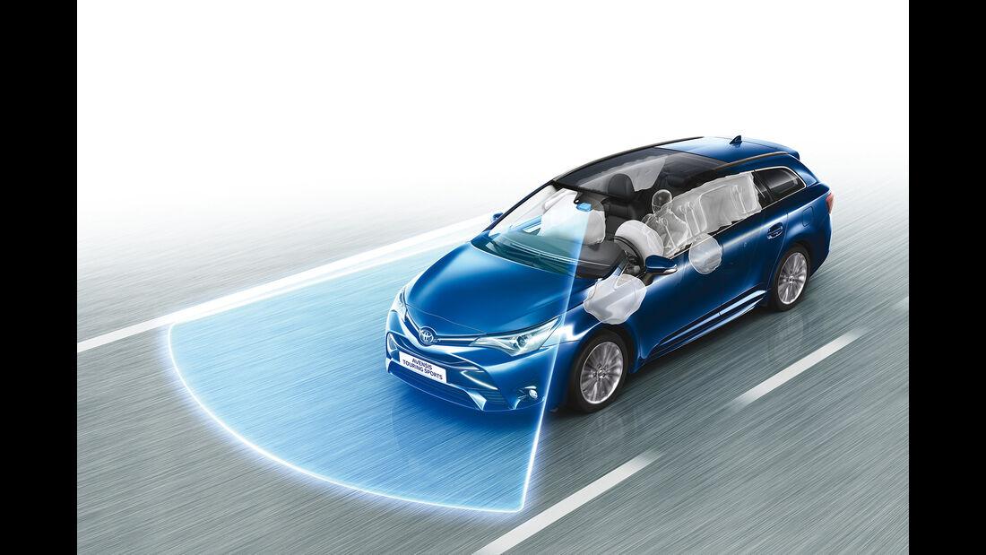 Toyota Avensis 2.0D-4D Touring Sports, Safety Sense, Kamera