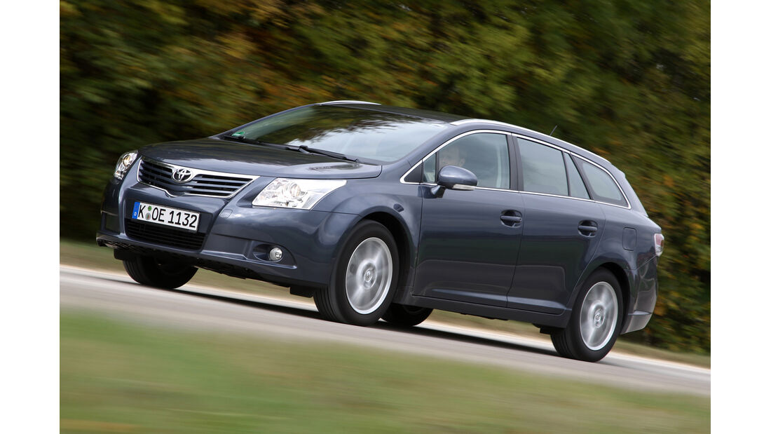 Toyota Avensis Combi, Frontansicht