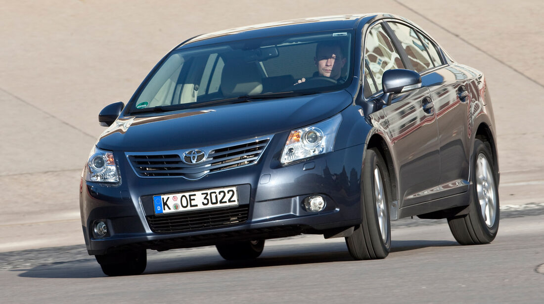 Toyota Avensis, Frontansicht
