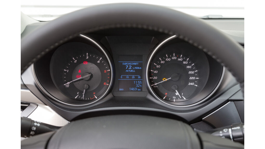 Toyota Avensis Touring Sports 2.0 D-4D, Rundinstrumente