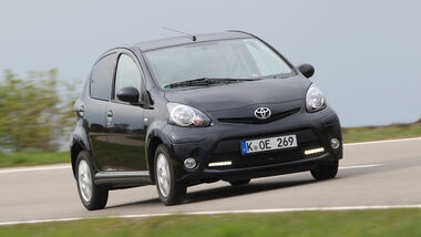 Toyota Aygo 1.0i, Frontansicht