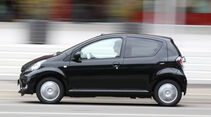 Toyota Aygo 1.0i, Seitenansicht
