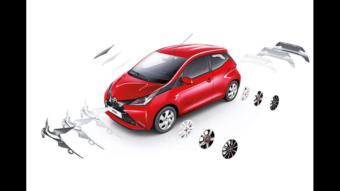 Toyota Aygo, Ausstattungsvarianten