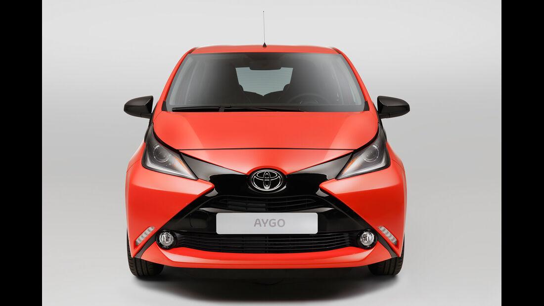 Toyota Aygo, Frontansicht