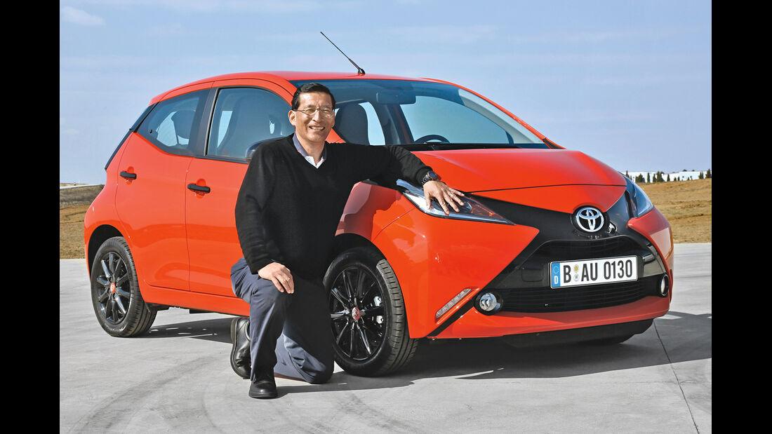 Toyota Aygo, Frontansicht, David Terai