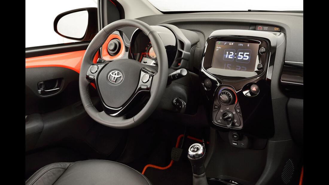 Toyota Aygo, Innenraum, Interieur