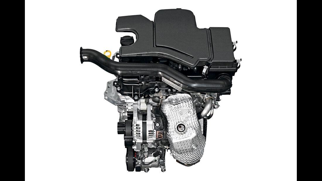 Toyota Aygo, Motor