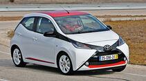 Toyota Aygo, Seitenansicht