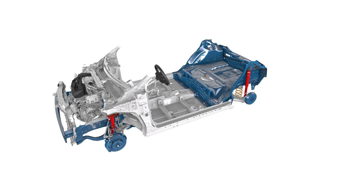 Toyota Aygo TNGA-B Plattform