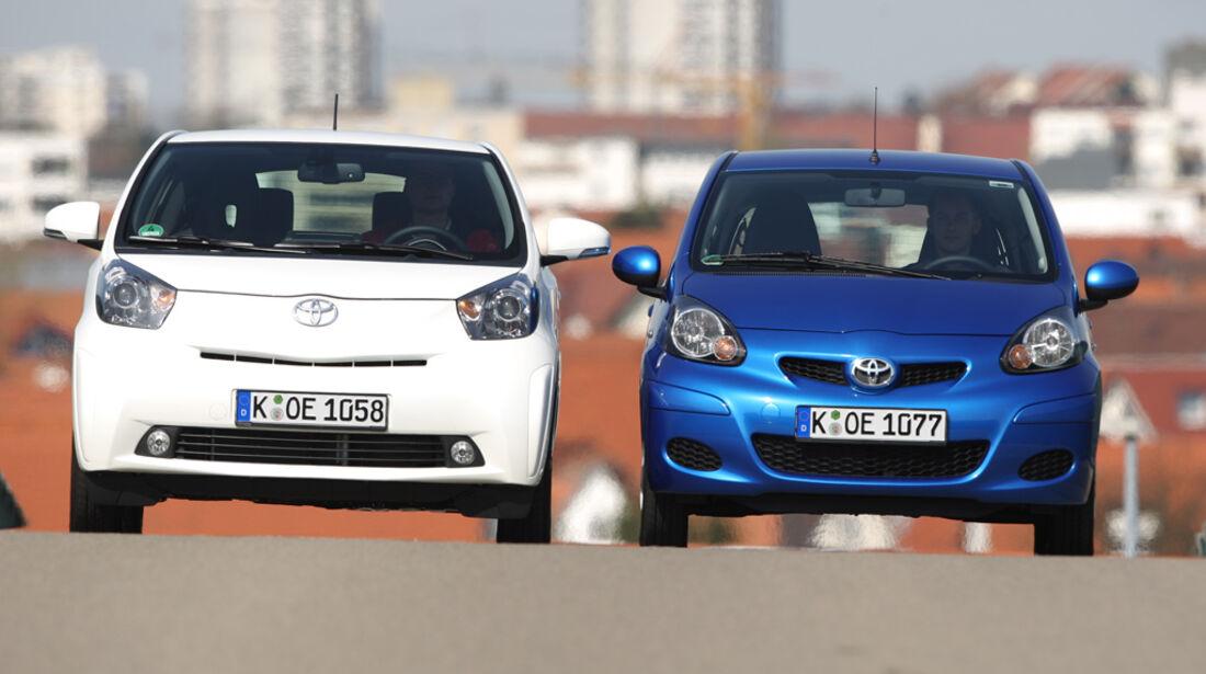 Toyota Aygo, Toyota iQ