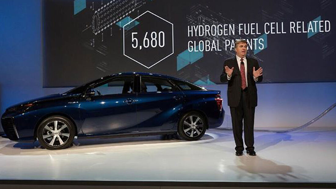 Toyota Brennstoffzelle technik patente