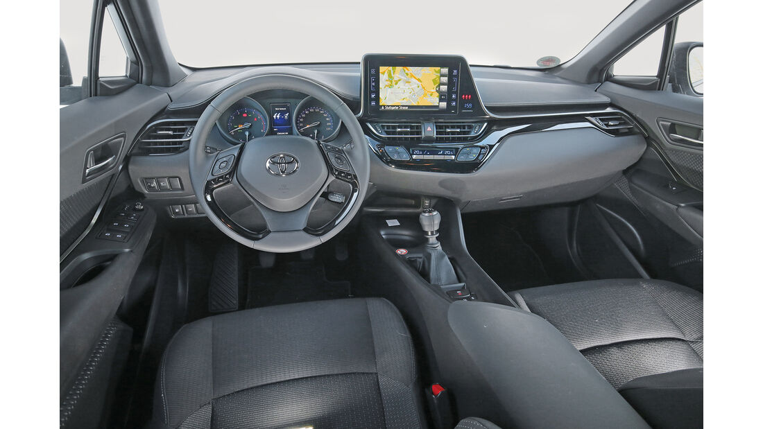 Toyota C-HR 1.2 T, Cockpit