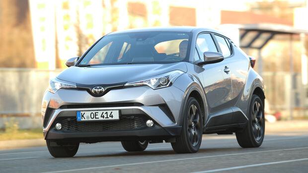 Toyota C-HR 1.2 T, Frontansicht