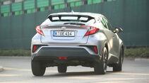 Toyota C-HR 1.2 T, Heckansicht