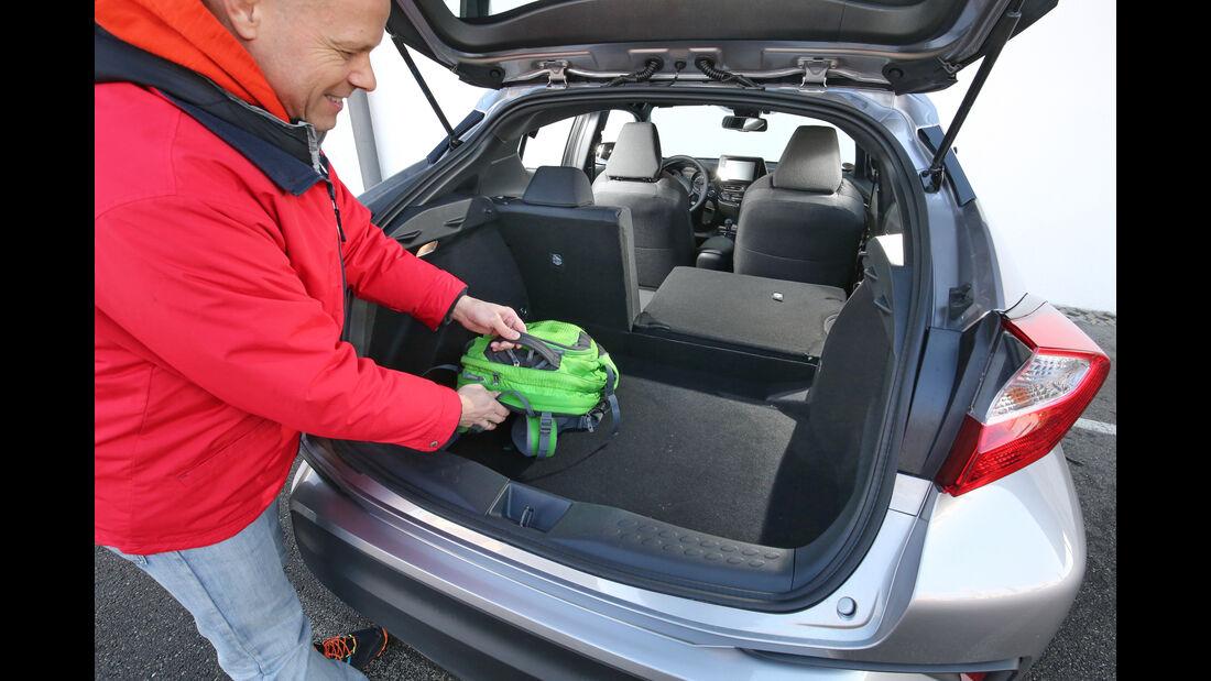 Toyota C-HR 1.2 T, Kofferraum