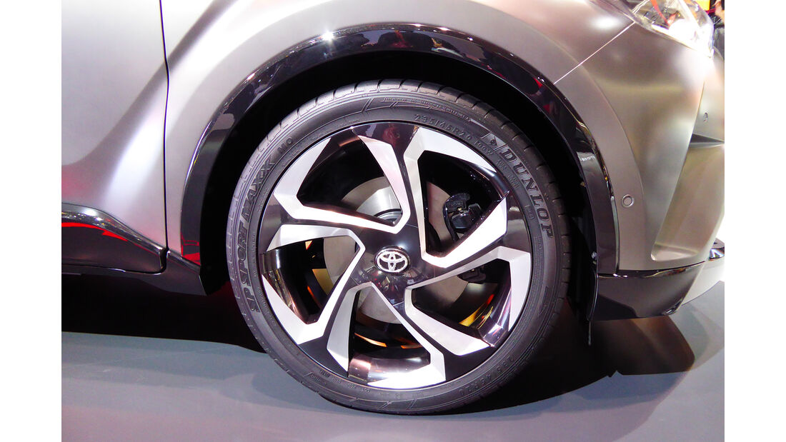 Toyota C-HR Hy-Power Concept - Felgen - IAA 2017