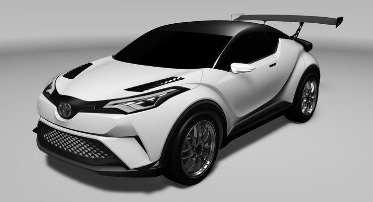 Toyota CH-R Racing
