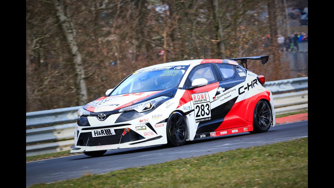 Toyota CH-R - Startnummer #283 - Gazoo Racing Team Thailand - SP3 - VLN 2019 - Langstreckenmeisterschaft - Nürburgring - Nordschleife