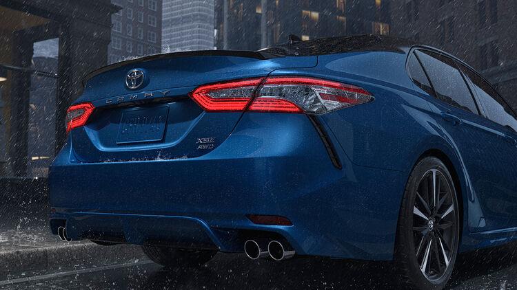 Toyota Camry Awd 2019 Auto Motor Und Sport