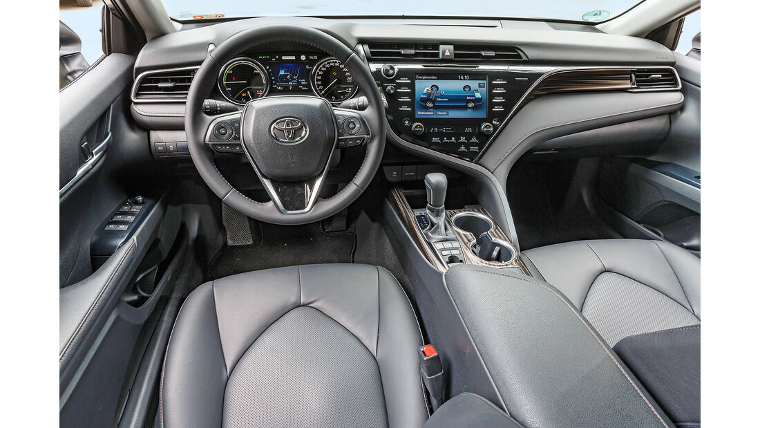 Toyota Camry, Interieur
