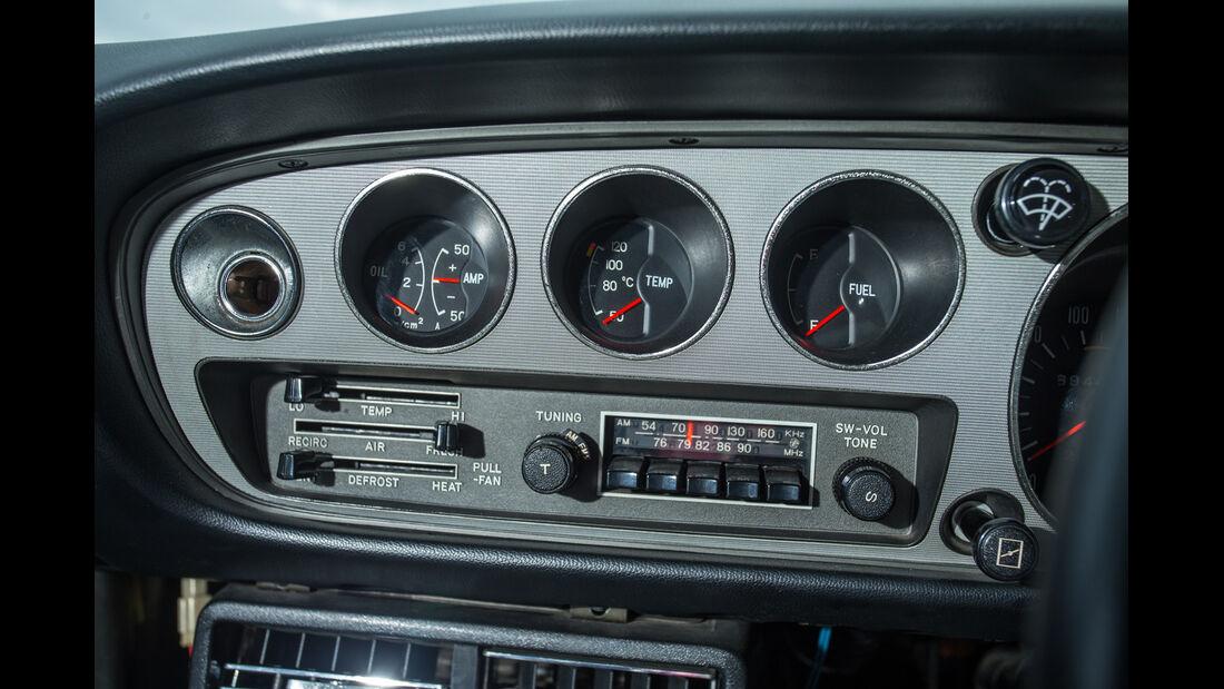 Toyota Celica, Anzeigeinstrumente