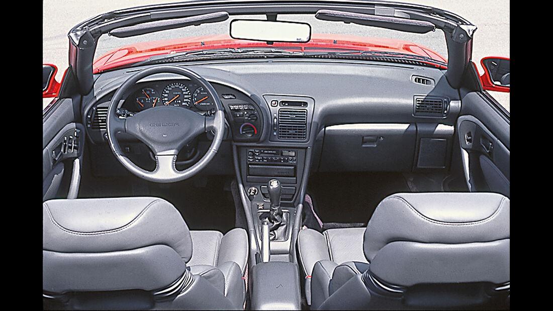 Toyota Celica Cabrio 2.0 Gti, Cockpit