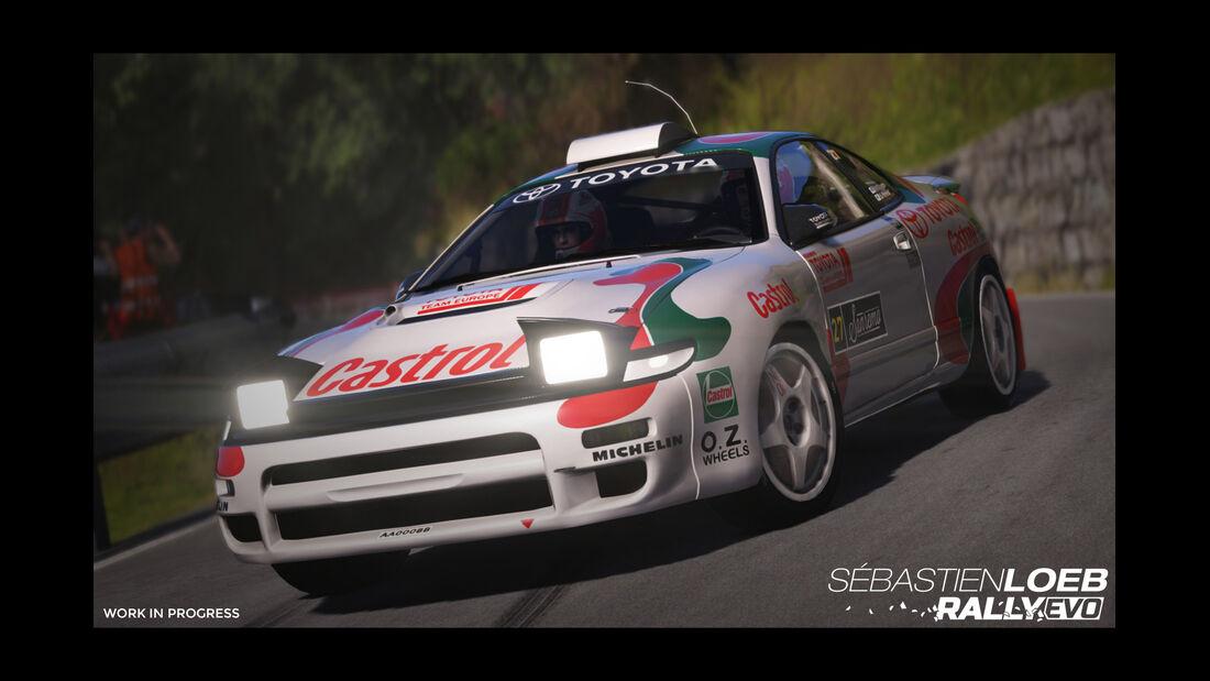 Toyota Celica - Screenshot - Sebastien Loeb Rally Evo
