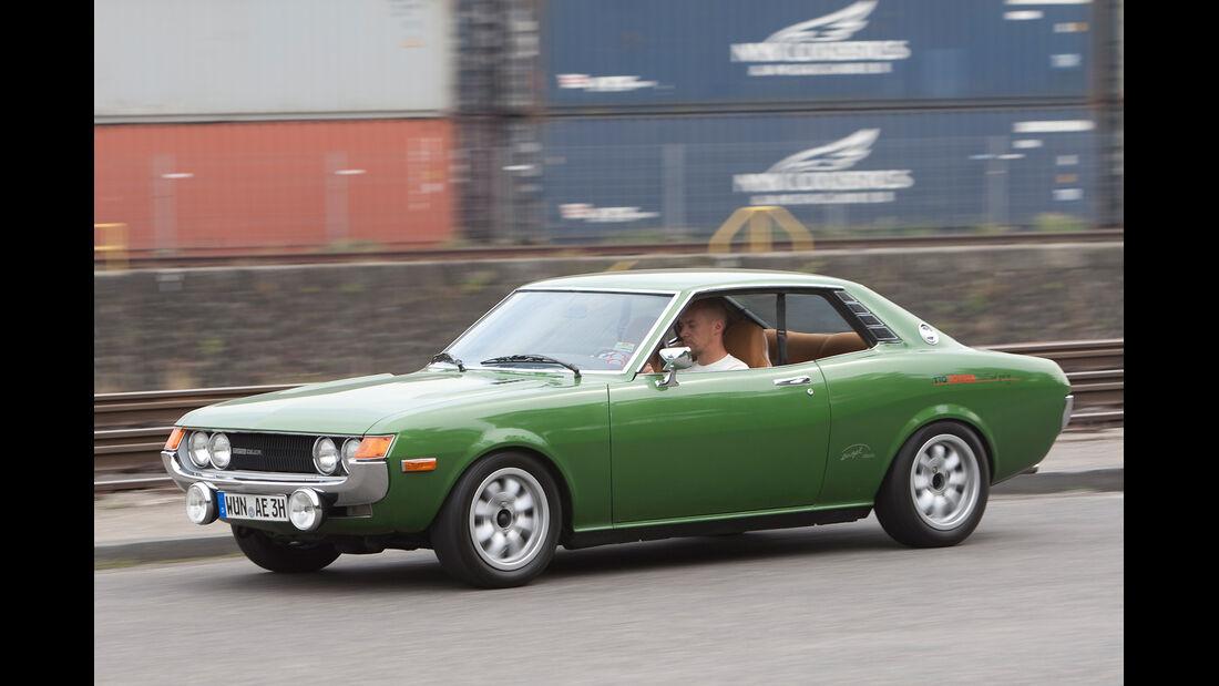 Toyota Celica, Seitenansicht