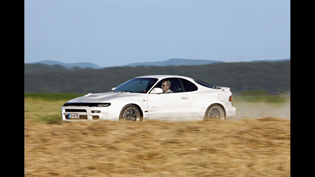 Toyota Celica Turbo 4WD Carlos Sainz, Seitenansicht