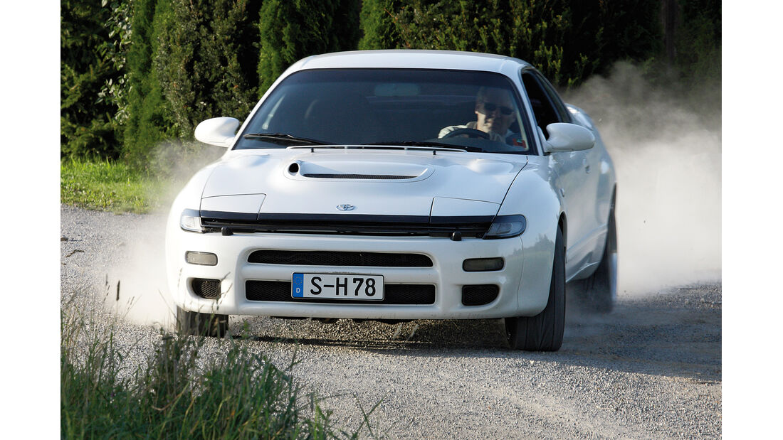 Toyota Celica Turbo 4WD, Frontansicht