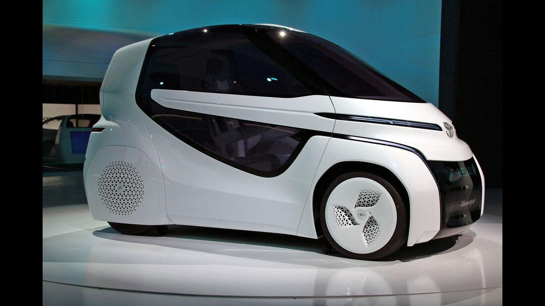 Toyota Concept i-ride Tokio Motorshow 2017