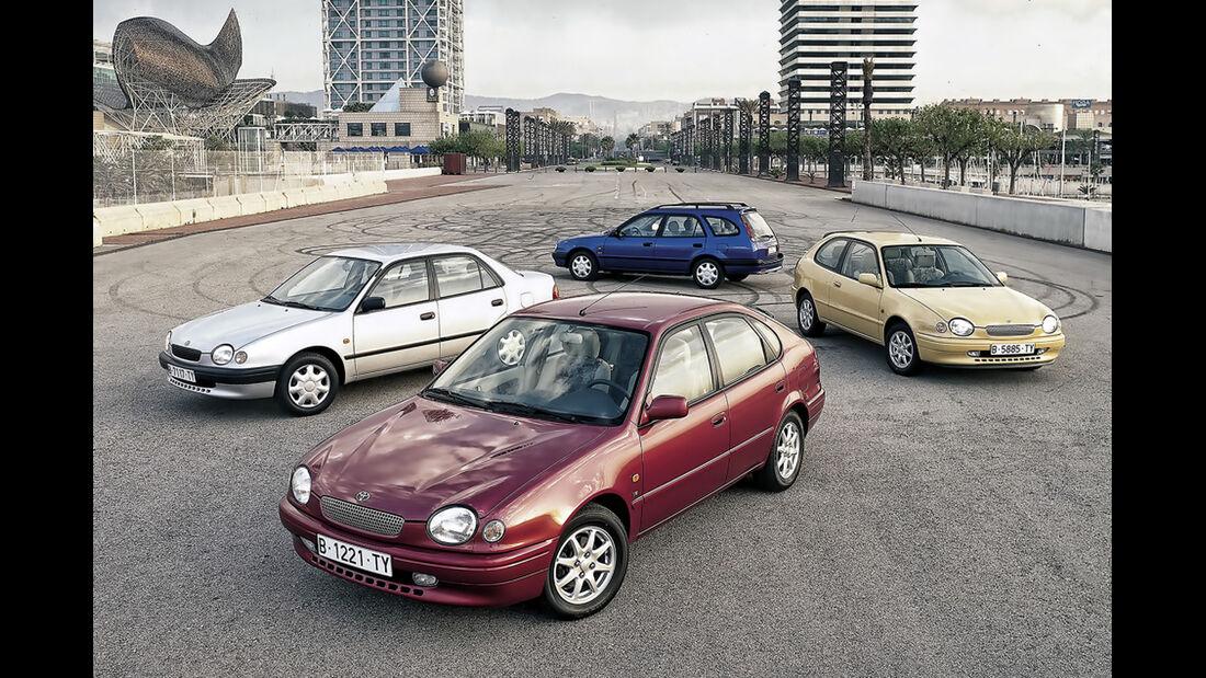 Toyota Corolla 50 Jahre