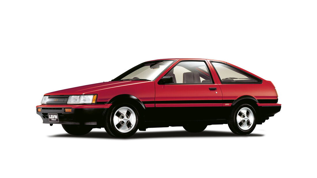 Toyota Corolla AE 86, Seitenansicht