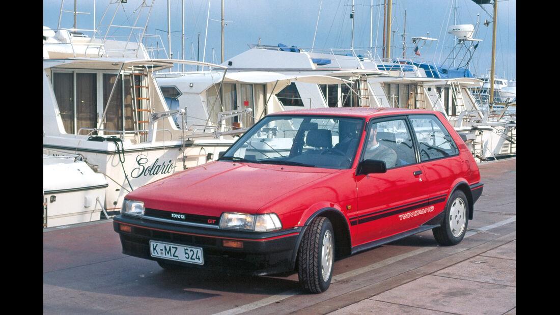 Toyota Corolla Compakt, Frontansicht