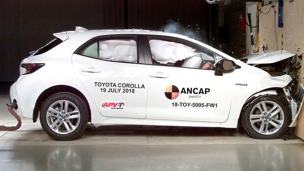 Toyota Corolla EuroNCAP-Crashtest