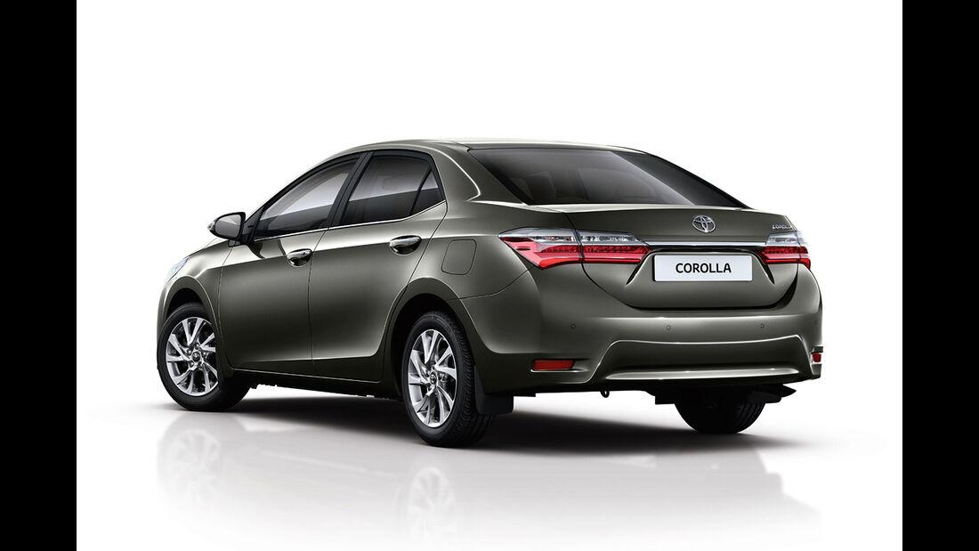 Toyota Corolla Facelift 2016