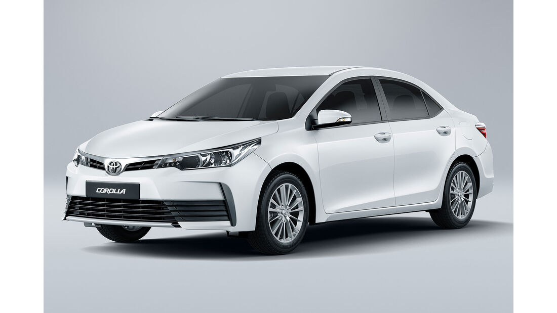 Toyota Corolla Front Seite Standbild