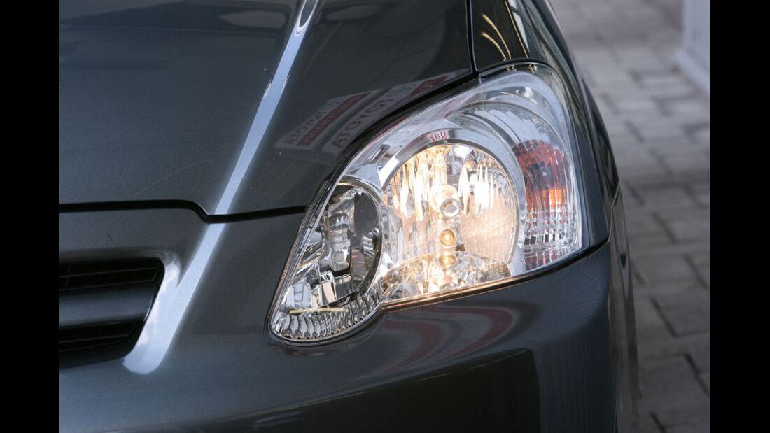 Toyota Corolla, Scheinwerfer