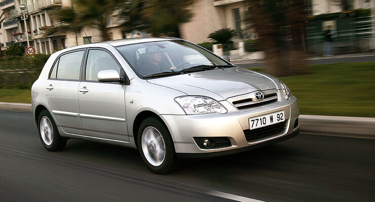 Toyota Corolla Schraegheck