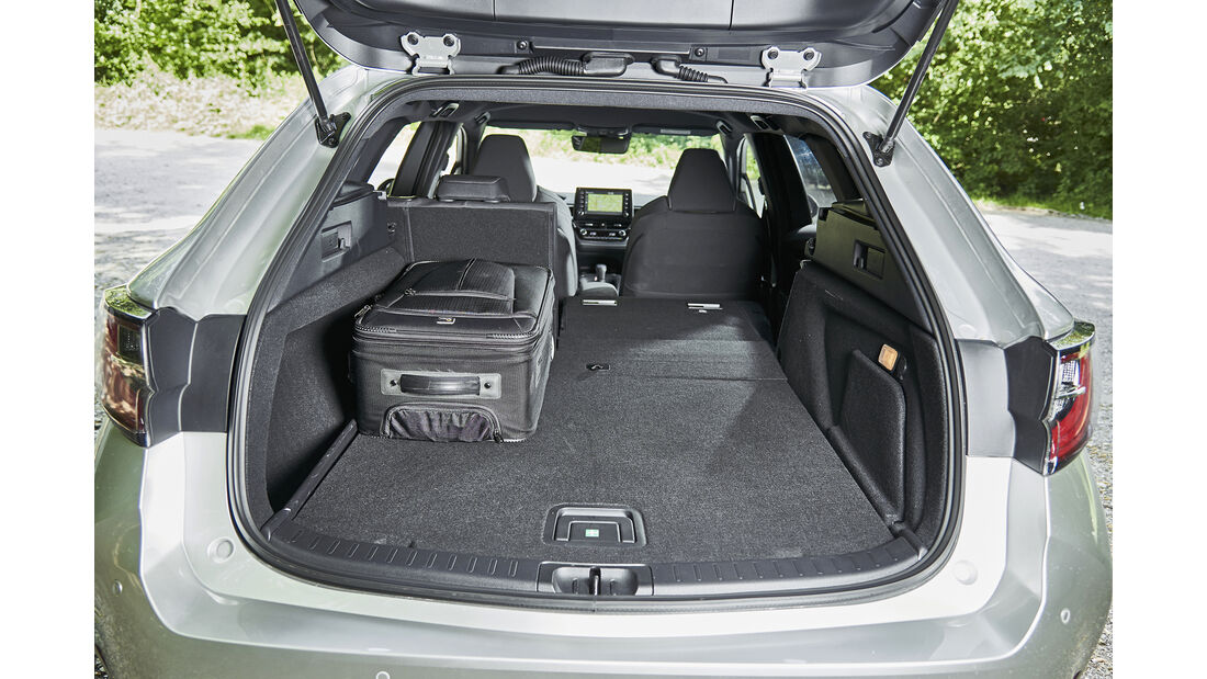 Toyota Corolla TS 2.0 Hybrid, Interieur