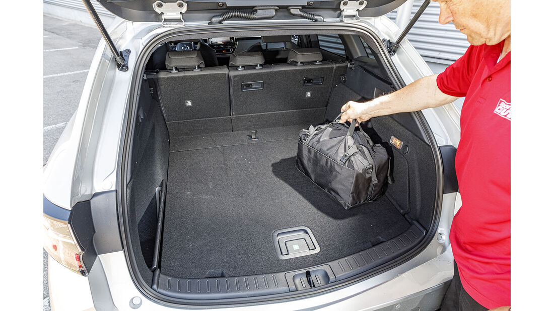 Toyota Corolla Touring Sports, Kofferraum