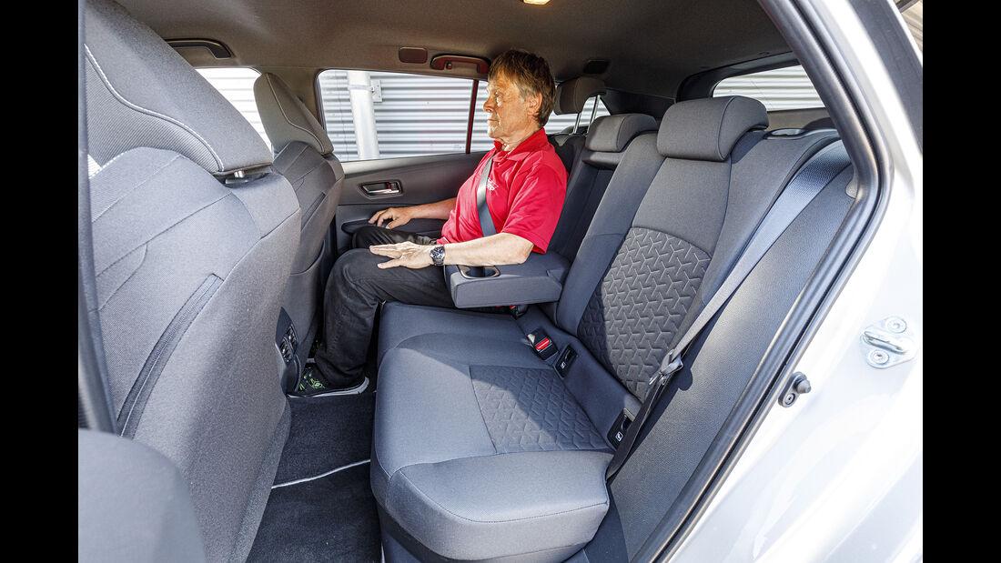 Toyota Corolla Touring Sports, Rückbank