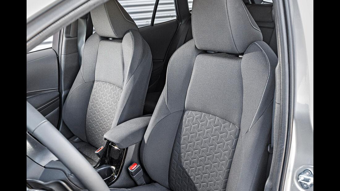 Toyota Corolla Touring Sports, Sitz