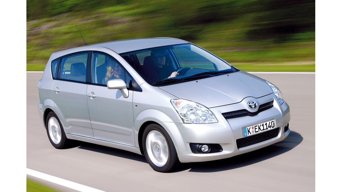 Toyota Corolla Verso, Seitenansicht