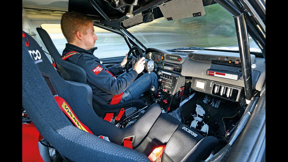 Toyota Corolla WRC, Cockpit, Lenkrad
