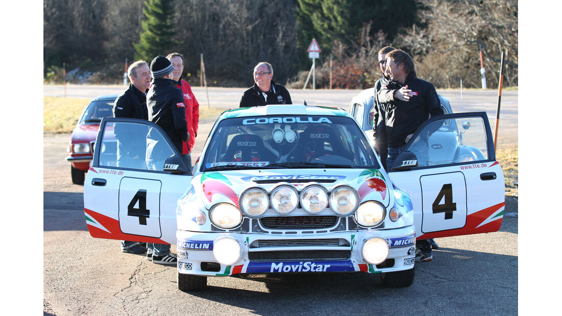 Toyota Corolla WRC, Frontansicht
