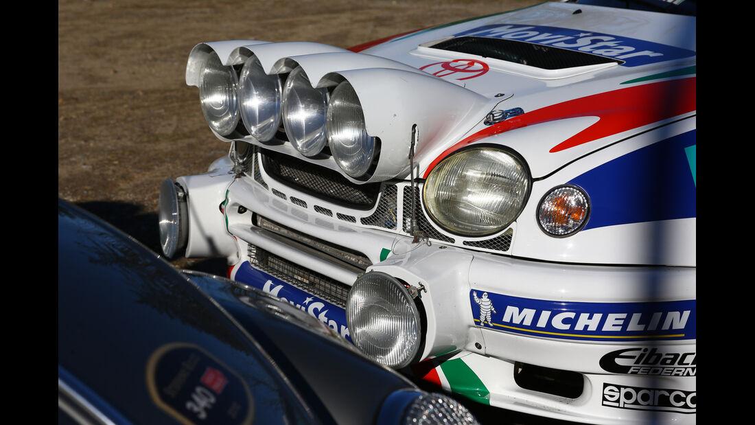 Toyota Corolla WRC, Frontscheinwerfer